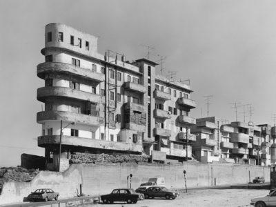 Irmel Kamp, Tel Aviv (House Levy), 1989, Gelatin silver print, Baryta paper, 50 x 60 cm